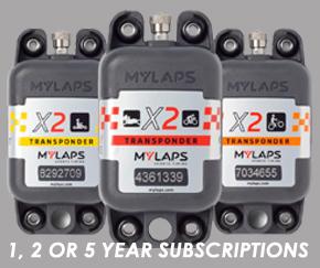 Mylaps X2 transponders
