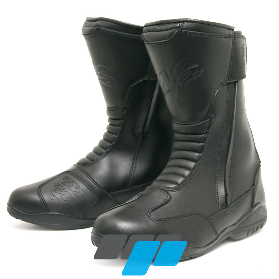 e2520745e922 W2 Road DZ Adult Motorcycle Boots Black