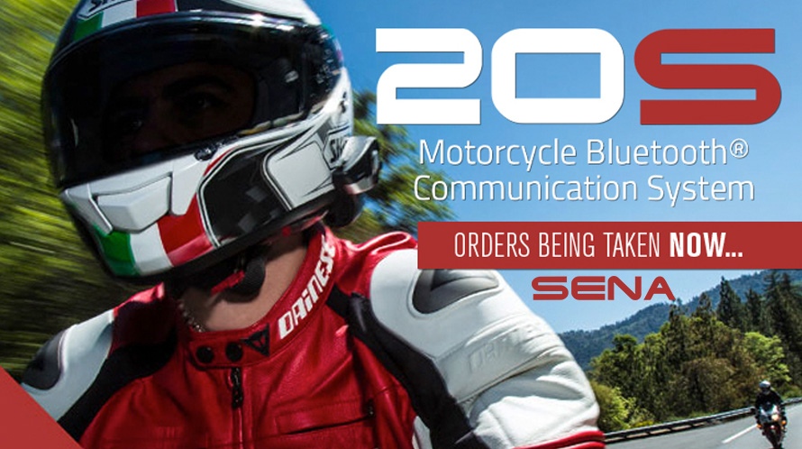 Sena 20S Motorcycle Bluetooth® Communication System