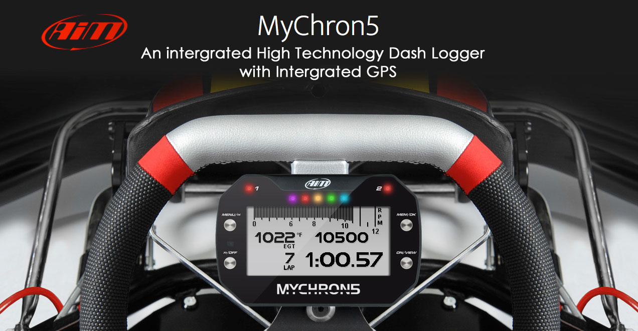 AIM MyChron5 An intergrated High Technology Dash Logger