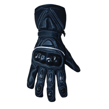 Leather Motorcycle Road / Race Gloves