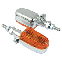 Universal Adjustable Stem Chrome Indicators