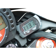 Compact Motorcycle Digital LCD Clock