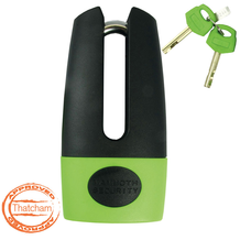 Mammoth Thatcham Shackle Disc Lock With Reminder Coil