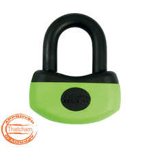 Mammoth Thatcham 13mm Mini U-Disc Lock With Reminder Coil