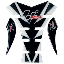 MotoGP Tank Pad - Black & Carbon