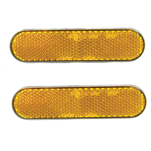 Reflector Kit Amber 2 Pieces Self Adhesive 22 X 94mm E-Marked