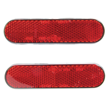 Reflector Kit Red 2 Pieces Self Adhesive 22 X 94mm E-Marked