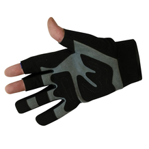 Fingerless Mechanic Gloves Back