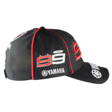 Cap Yamaha Lorenzo Black One-Size Side