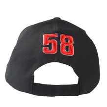 Mens Cap 58 Sic White/Black Back