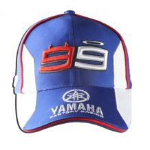 Cap Yamaha Lorenzo White/Blue One-Size