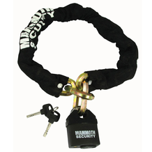 Mammoth Lock & Chain 12mm x 1m