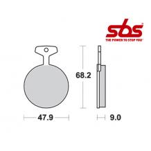 SBS 504 Brake Pad Kit