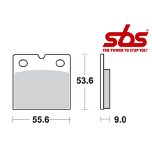 SBS 506 Brake Pad Kit