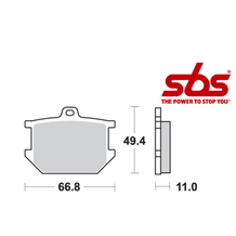 SBS 507 Brake Pad Kit