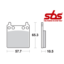 SBS 509 Brake Pad Kit