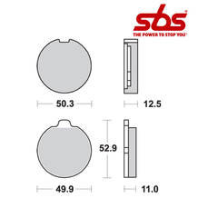 SBS 511 Brake Pad Kit