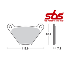SBS 513 Brake Pad Kit