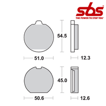 SBS 514 Brake Pad Kit