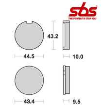 SBS 516 Brake Pad Kit