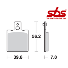SBS 519 Brake Pad Kit