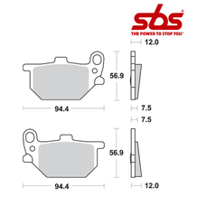 SBS 528 Brake Pad Kit