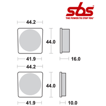 SBS 531 Brake Pad Kit