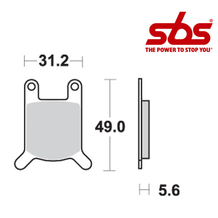 SBS 532 Brake Pad Kit