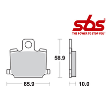 SBS 535 Brake Pad Kit