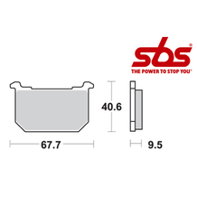SBS 540 Brake Pad Kit