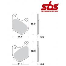 SBS 543 Brake Pad Kit