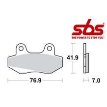 SBS 551 Brake Pad Kit