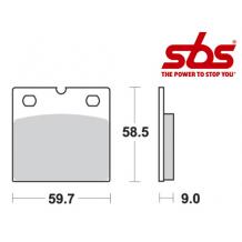 SBS 554 Brake Pad Kit