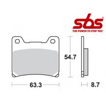 SBS 555 Brake Pad Kit
