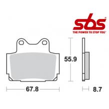 SBS 570 Brake Pad Kit
