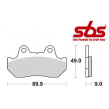 SBS 572 Brake Pad Kit