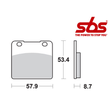 SBS 577 Brake Pad Kit