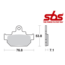 SBS 581 Brake Pad Kit