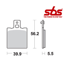 SBS 583 Brake Pad Kit