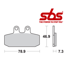 SBS 588 Brake Pad Kit