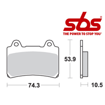 SBS 590 Brake Pad Kit