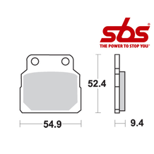 SBS 598 Brake Pad Kit