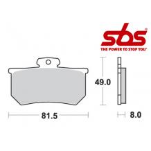 SBS 599 Brake Pad Kit