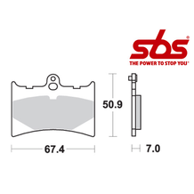 SBS 601 Brake Pad Kit