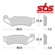 SBS 603 Brake Pad Kit