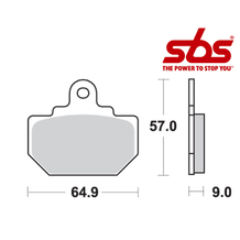 SBS 610 Brake Pad Kit