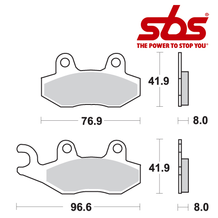 SBS 611 Brake Pad Kit