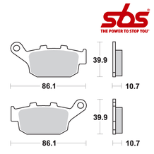 SBS 614 Brake Pad Kit