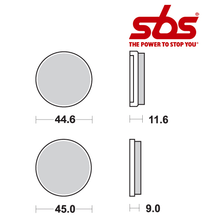 SBS 617 Brake Pad Kit